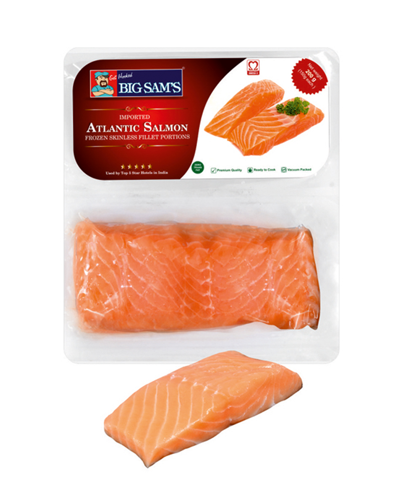 Salmon Portion 200Gram